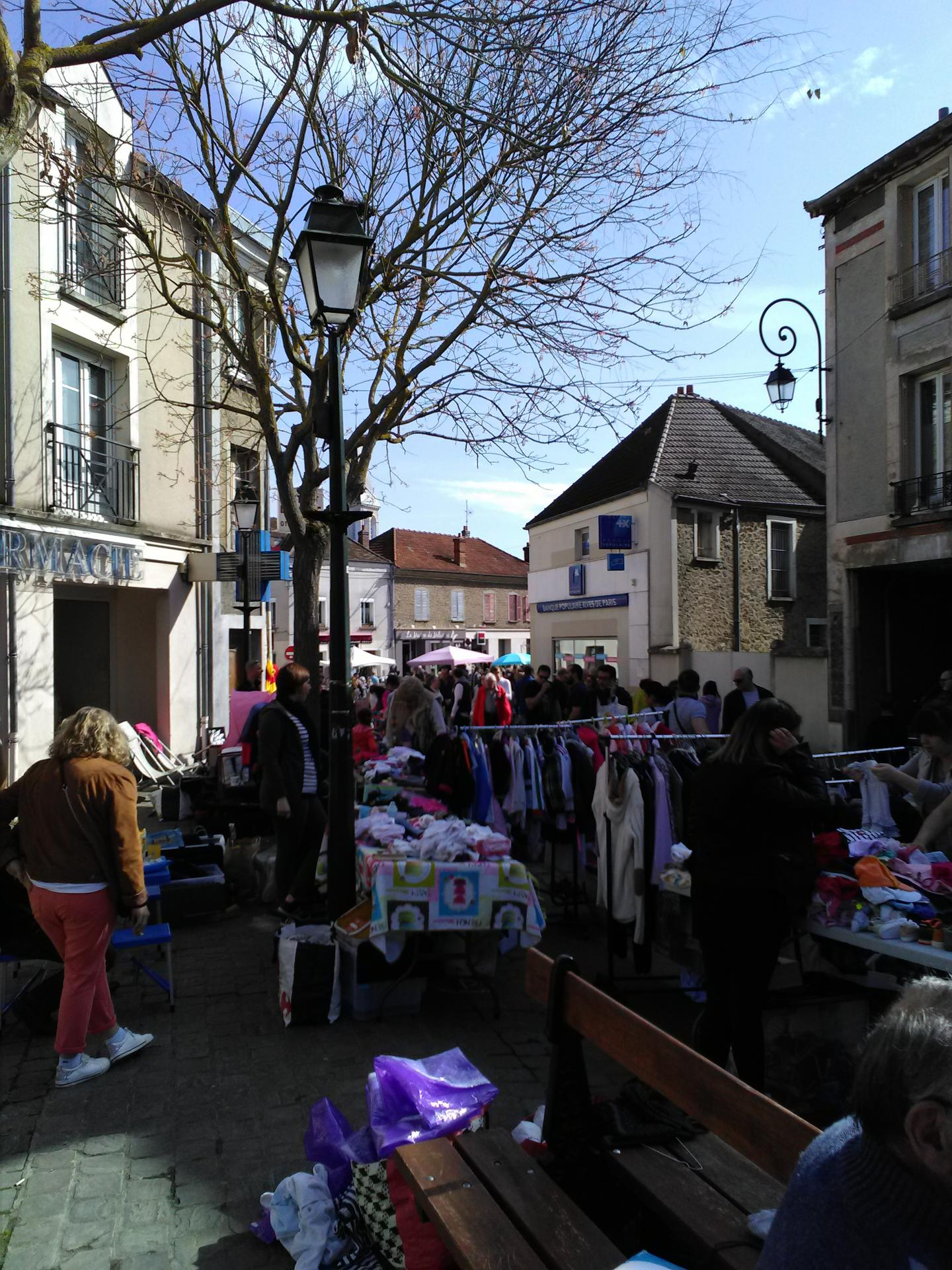 Brocante du Centre Ville le 14 Avril 2019